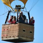 fly with us on a hot air balloon ride